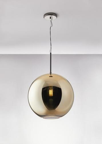Lampa wisząca Fabbian Beluga Royal D57 22W 40cm - Złoty - D57 A61 12