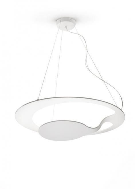Lampa wisząca Fabbian Glu F31 17W - Biały - F31 A01 01