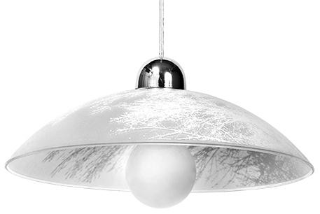 Biała Lampa Wisząca VENTO SL.0171