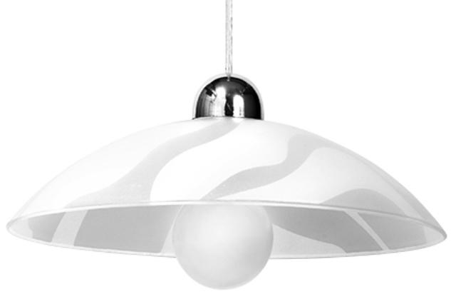 Biała Lampa Wisząca WELLE SL.0174