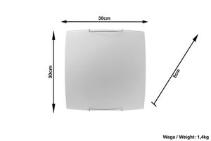 Biały Plafon SABIA SL.0180 small 3