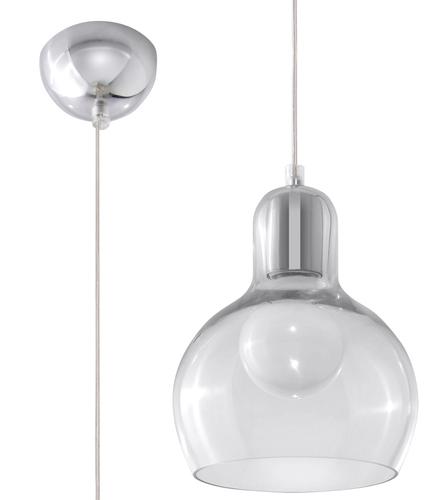 Transparentna Lampa Wisząca CARLA Transparentny SL.0232