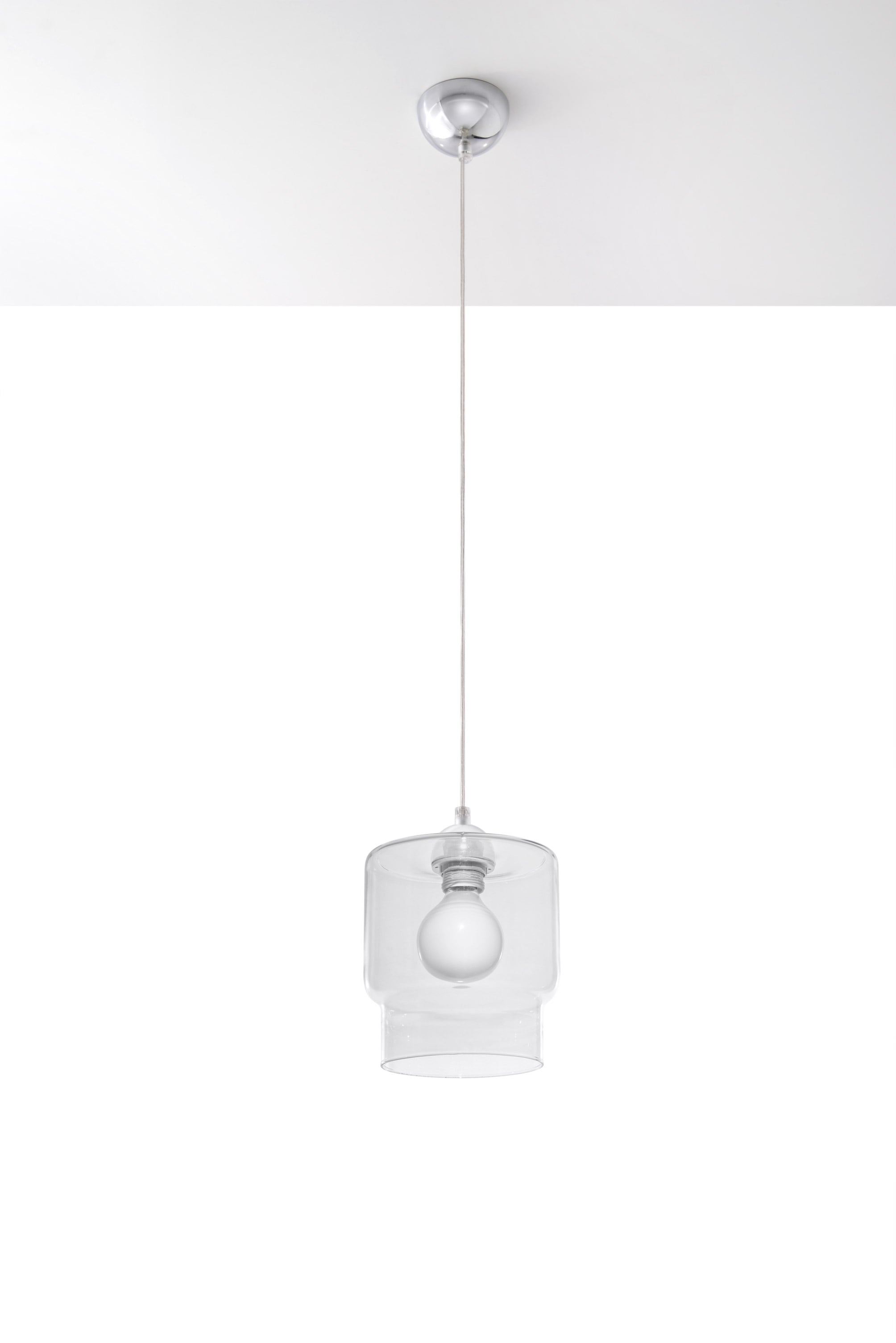 Lampa wisząca PAOLA Transparent