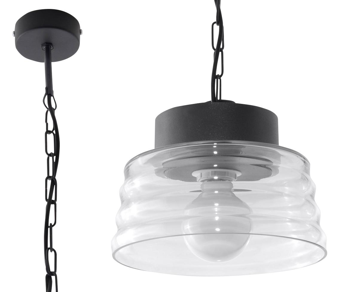 Transparentna Lampa Wisząca MARINA Transparentny SL.0241