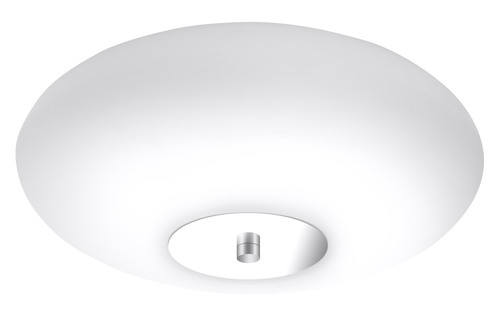 Biały/chrom Plafon UFO 48