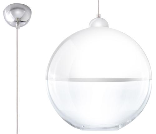 Biała Lampa Wisząca GINO SL.0269