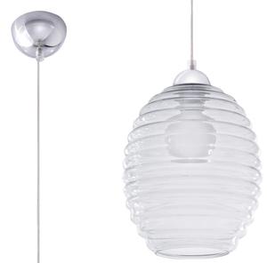 Transparentna Lampa Wisząca ALVARO Transparentny SL.0275 small 0