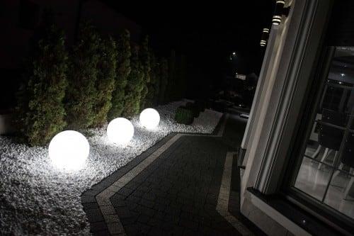 Kula świecąca elektryczna- Flexi Ball Electric 40 cm z kablem i żarówką