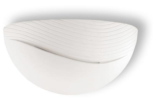 Biały Kinkiet Ceramiczny POLA