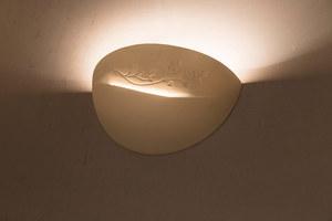 Biały Kinkiet Ceramiczny BELLA SL.0163 small 2