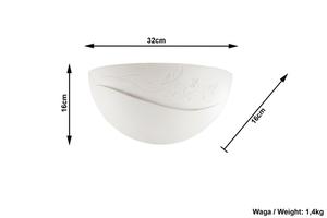 Biały Kinkiet Ceramiczny BELLA SL.0163 small 3