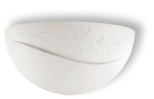 Biały Kinkiet Ceramiczny BELLA SL.0163 small 0