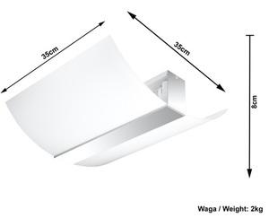 Biały/chrom Plafon CARMEN SL.0347 small 3