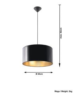 Czarna Lampa Wisząca LUXOR 40 SL.0363 small 3