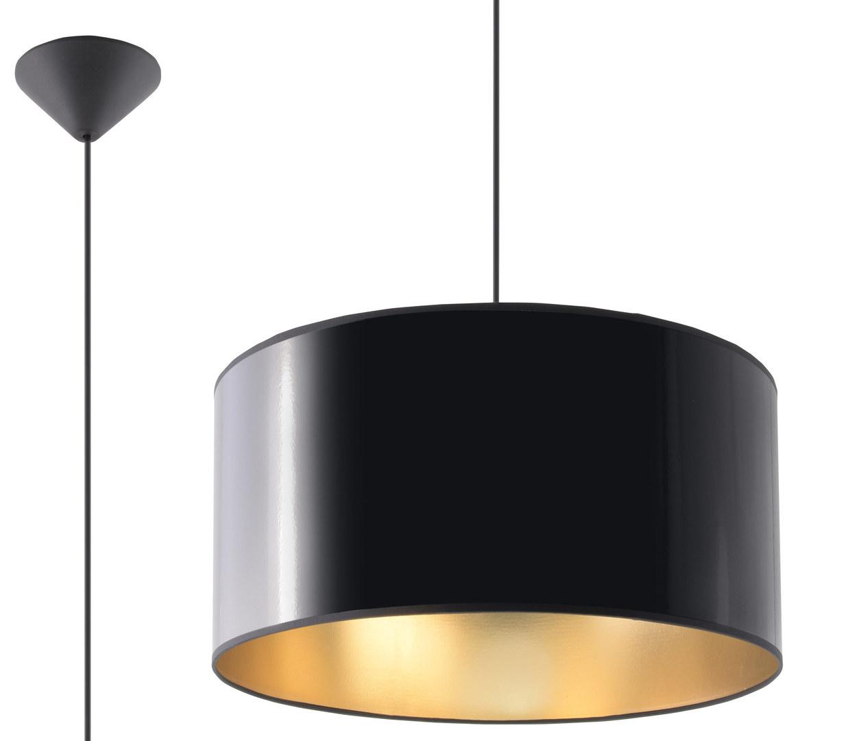 Czarna Lampa Wisząca LUXOR 40 SL.0363