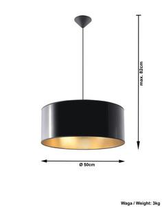 Czarna Lampa Wisząca LUXOR 50 SL.0364 small 3
