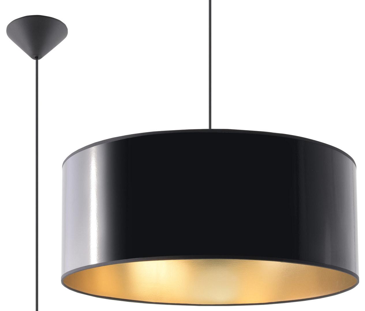 Czarna Lampa Wisząca LUXOR 50 SL.0364