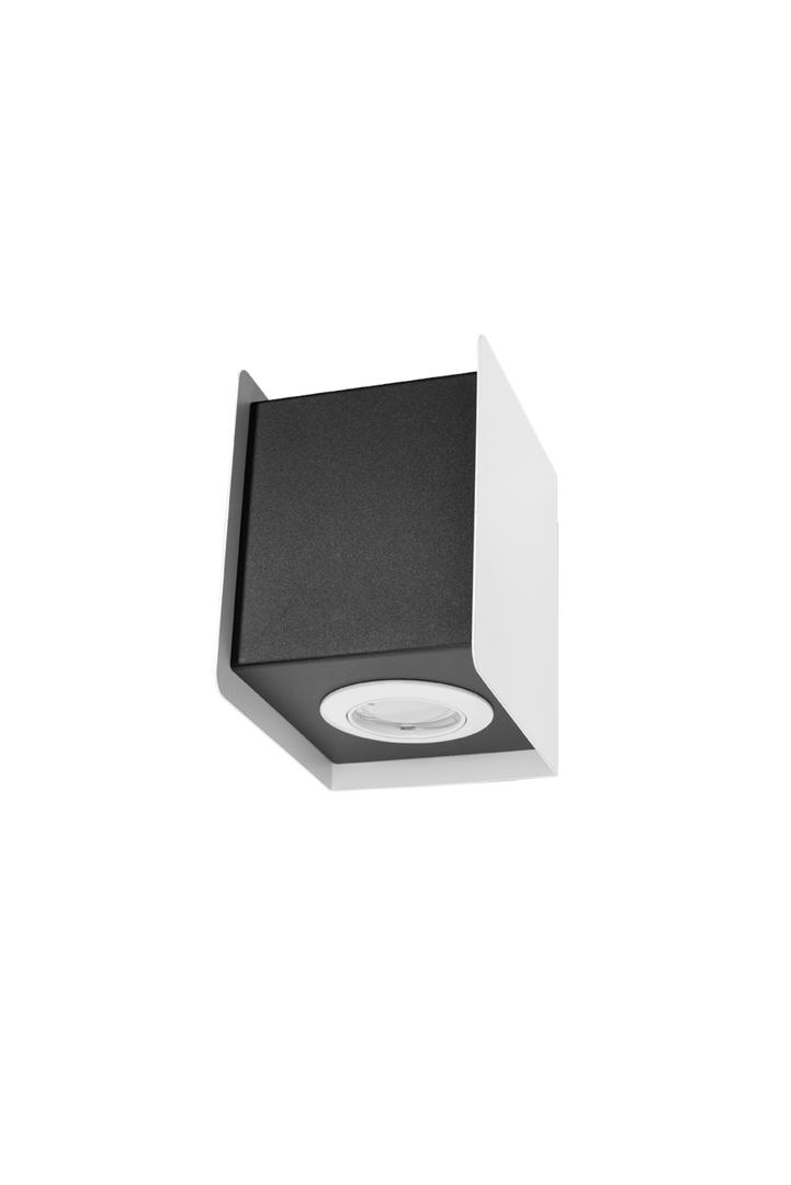 Kinkiet STEREO 1 biały/czarnyg SL.0401