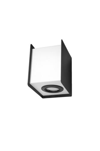 Kinkiet STEREO 2 czarny/biały