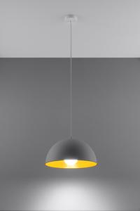 Lampa wisząca OKTAVIA biało/złota SL.0534 small 1
