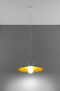 Lampa wisząca AVENA biało/złota SL.0536 small 2