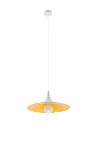 Lampa wisząca AVENA biało/złota SL.0536