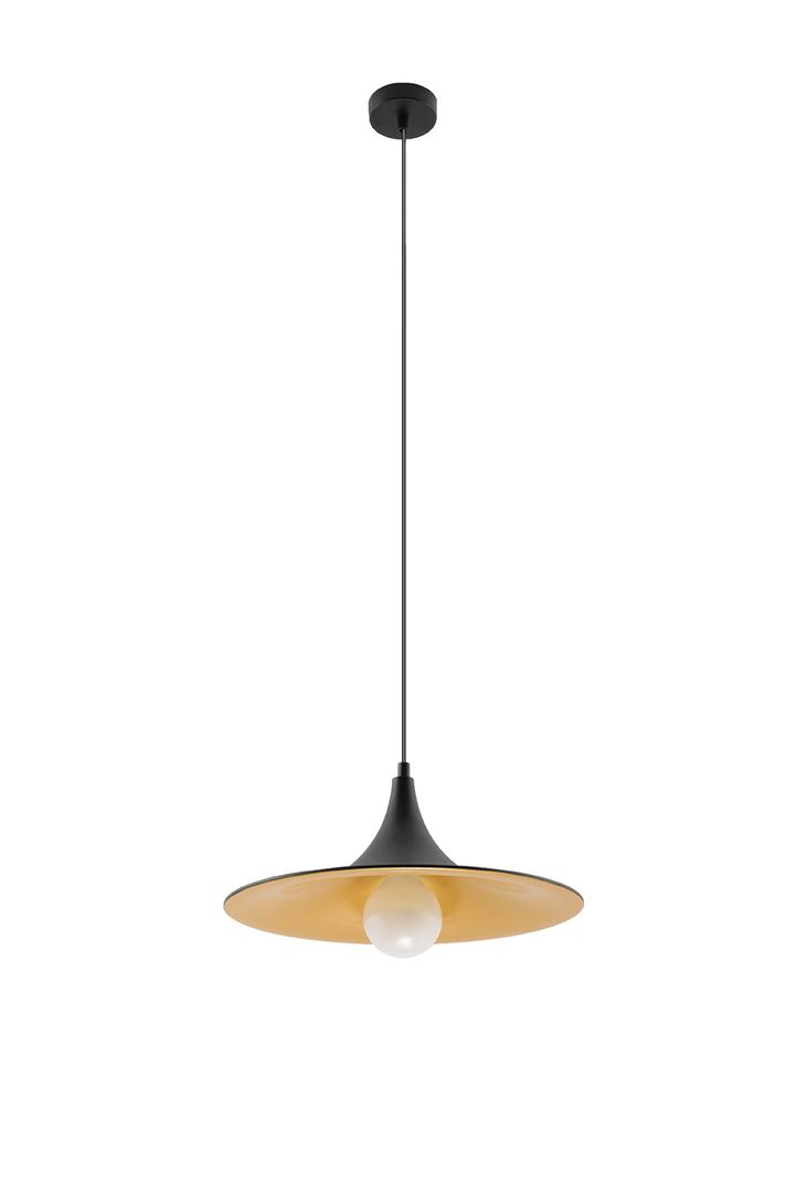Lampa wisząca AVENA czarno/złota SL.0537