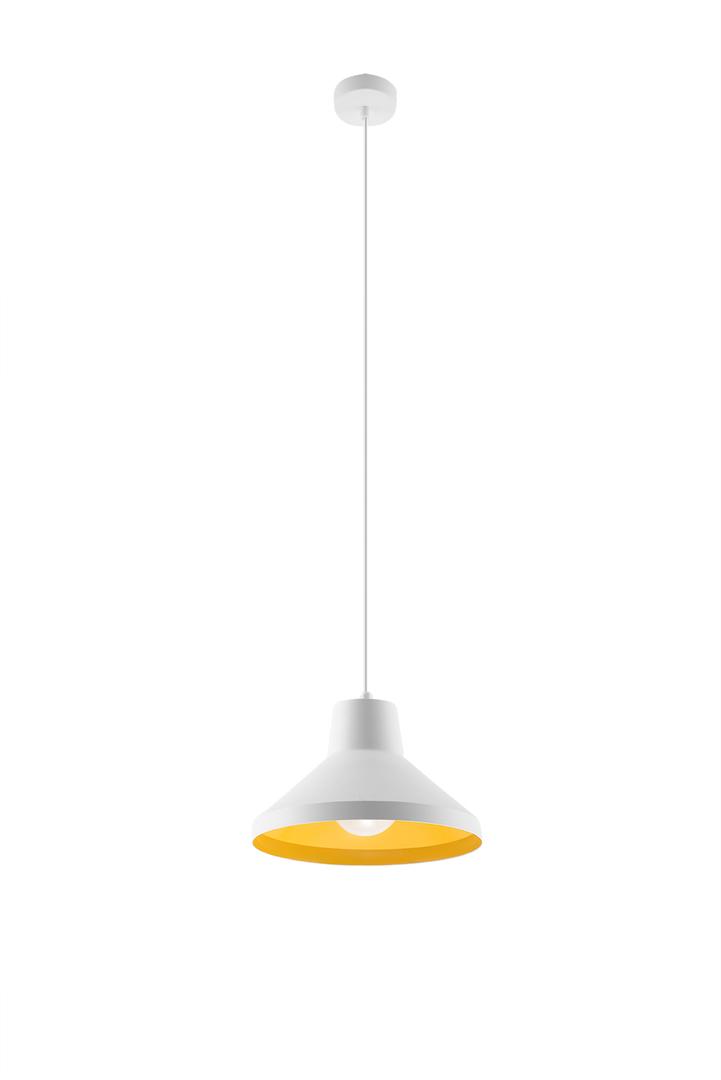 Lampa wisząca PALOMA biało/złota SL.0538