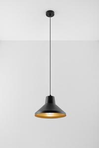 Lampa wisząca PALOMA czarno/złota SL.0539 small 1