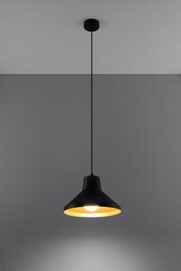 Lampa wisząca PALOMA czarno/złota SL.0539 small 2