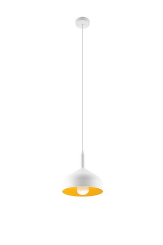 Lampa wisząca SYBILLA biało/złota SL.0540