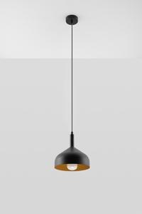 Lampa wisząca SYBILLA czarno/złota SL.0541 small 1
