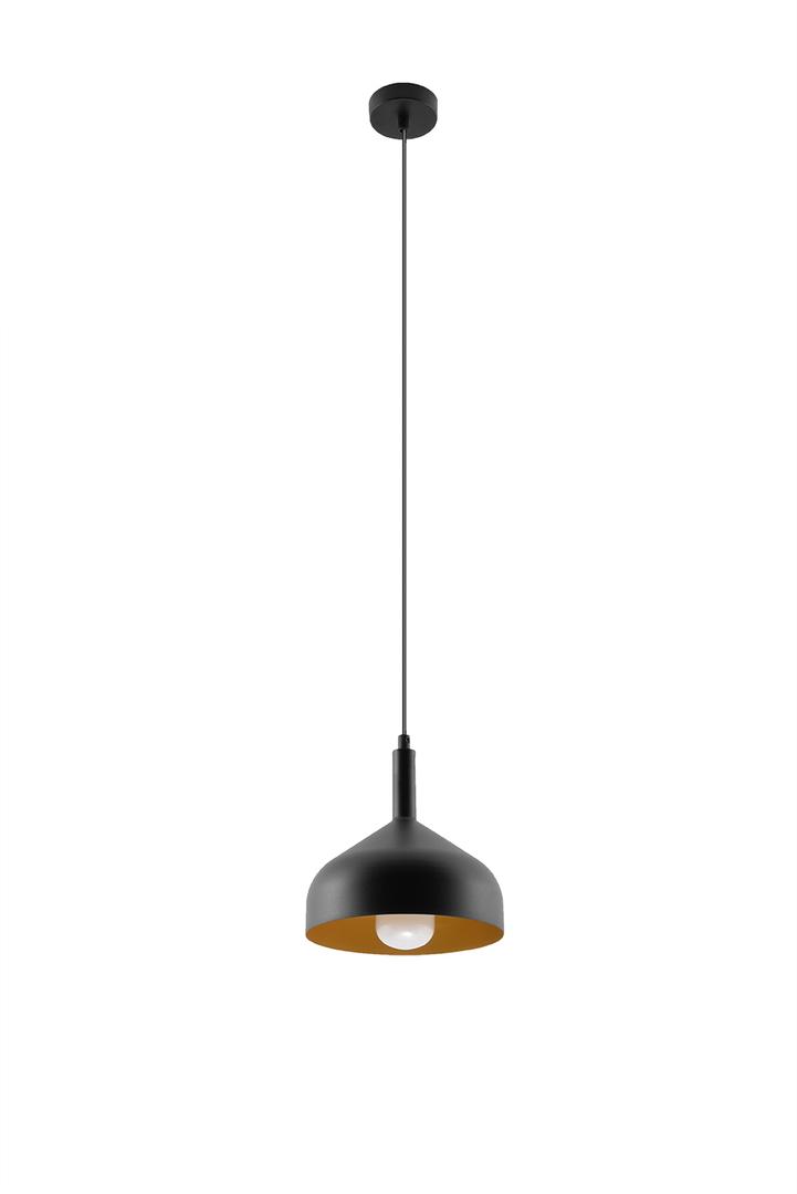 Lampa wisząca SYBILLA czarno/złota SL.0541