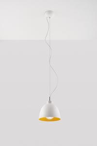 Lampa wisząca SERENA biało/złota SL.0542 small 1