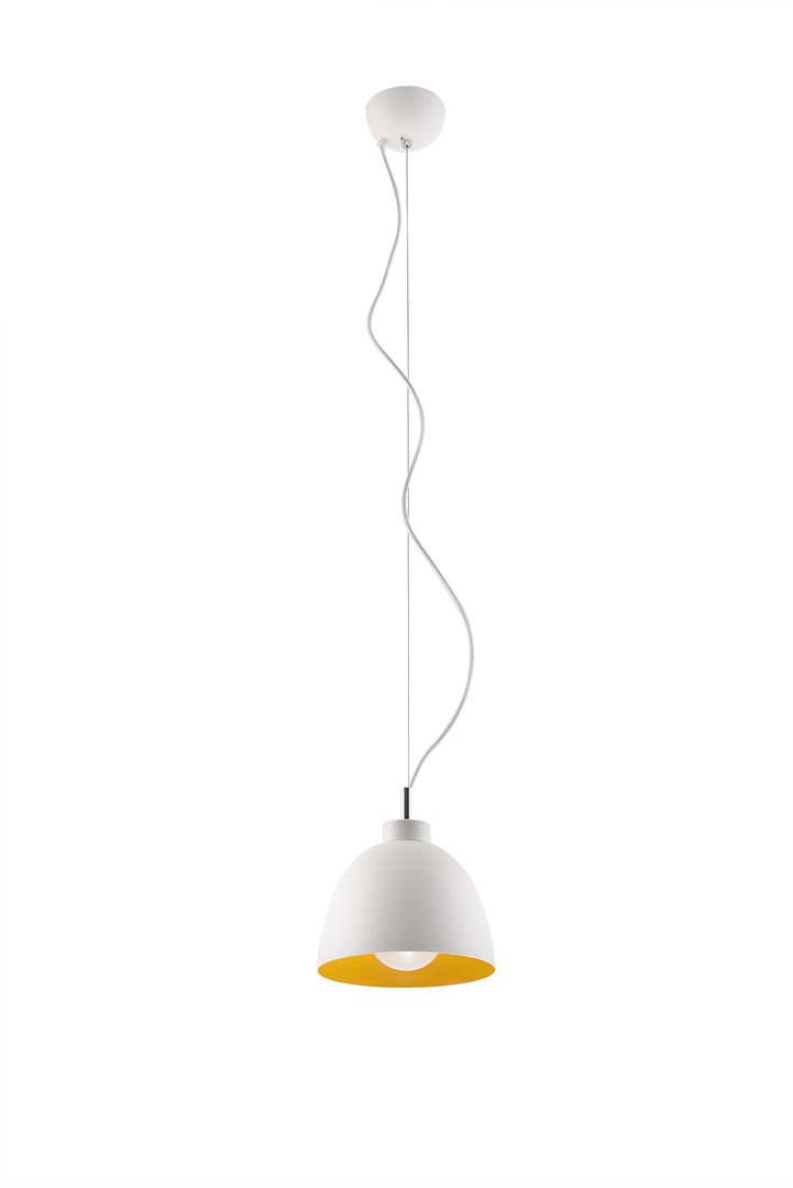 Lampa wisząca SERENA biało/złota SL.0542