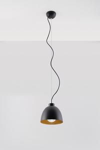 Lampa wisząca SERENA czarno/złota SL.0543 small 1