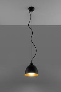 Lampa wisząca SERENA czarno/złota SL.0543 small 2