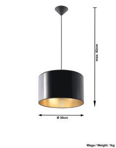 Czarna Lampa Wisząca LUXOR 30 SL.0362 small 3