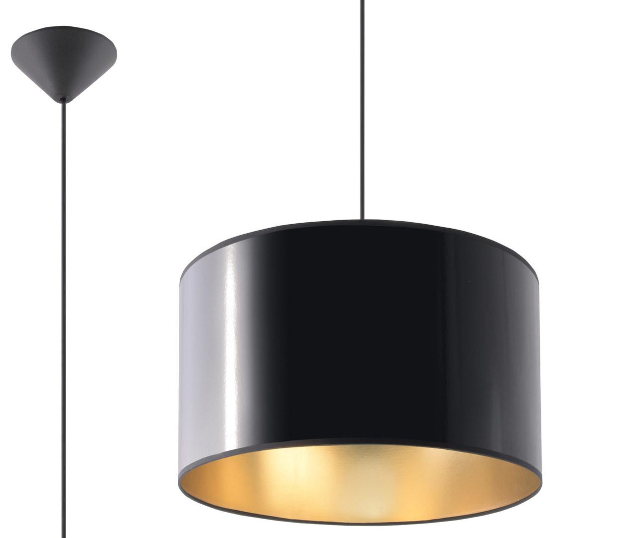Czarna Lampa Wisząca LUXOR 30 SL.0362