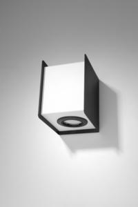 Kinkiet STEREO 1 czarny/biały SL.0403 small 1