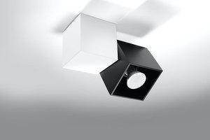Plafon OPTIK NERO 2 Biały/Czarny SL.0473 small 2
