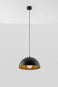 Lampa wisząca OKTAVIA czarno/złota SL.0535 small 1