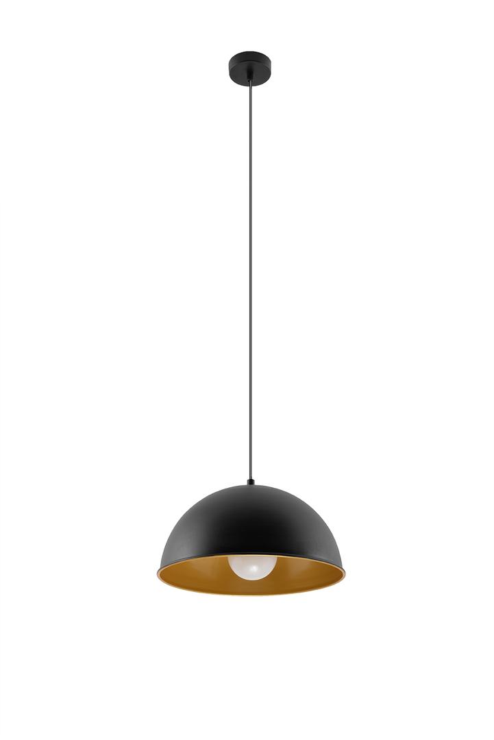 Lampa wisząca OKTAVIA czarno/złota SL.0535