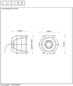 Lucide GRID 5521/01/30 small 1