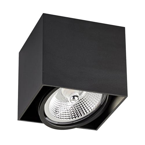 LAMPA WEWNĘTRZNA (SPOT) ZUMA LINE BOX 1 BK SPOT ACGU10-115
