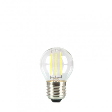 Żarówka do girland LED kulka 45mm 3,7W przezroczysta barwa bardzo ciepła