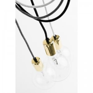 Loft Elite Line Gold lampa wisząca small 0