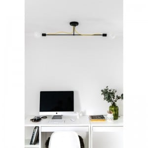 Lampa Industrialna sufitowa Loft Tubo 6  small 1