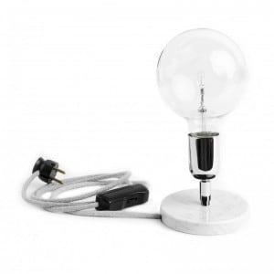 Loft Marble Silver BC lampa stołowa