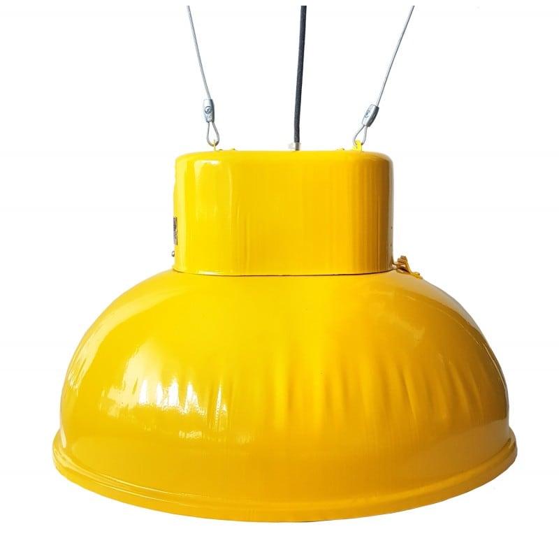 Duża fabryczna lampa wisząca ORP 2-1 żółta